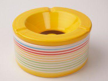 Windascher Streifendekor gelb