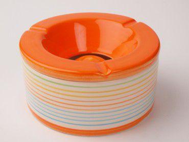 Windascher Streifendekor orange