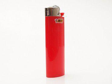 Einwegfeuerzeug Bic Maxi rot