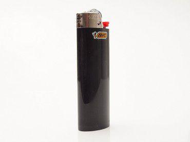 Einwegfeuerzeug Bic Maxi schwarz