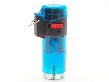Atomic Feuerzeug Jet Barrel blau