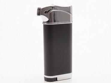 Atomic Pfeifenfeuerzeug schwarz matt
