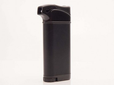 Atomic Pfeifenfeuerzeug schwarz