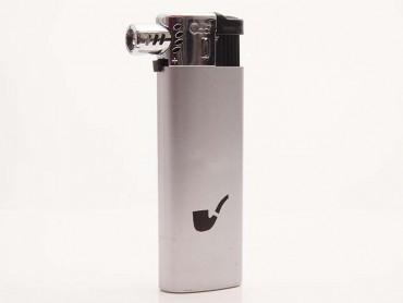 Cool Pfeifenfeuerzeug Kunststoff silber