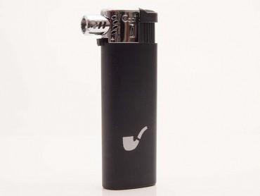 Cool Pfeifenfeuerzeug Kunststoff schwarz