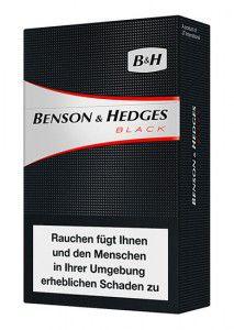 Benson & Hedges Black Zigaretten