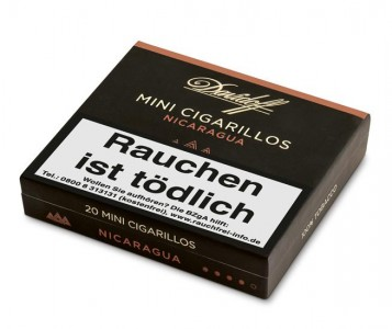 Davidoff Mini Cigarillos Nicaragua / 20er Packung