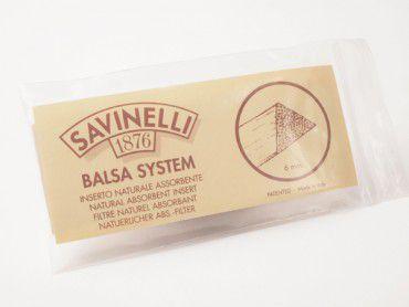 Savinelli Balsaholz Filter 6mm
