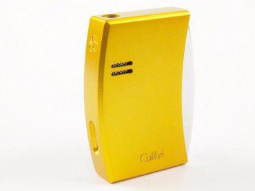 Colibri Feuerzeug Eclipse gelb eloxiert