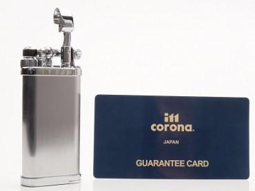 IM Corona Pfeifenfeuerzeug Old Boy gebürstet matt chrom