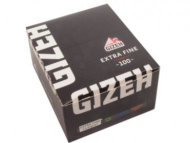Gizeh Black Extra Fine Weiß 20x100