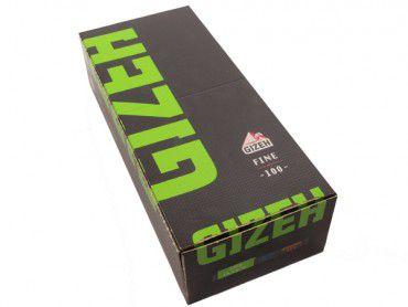 Gizeh Black Fine Grün 20x100