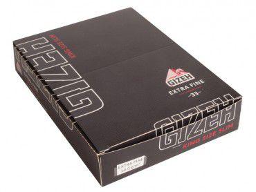 Gizeh Black Extra Fine Slim 25x33