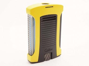 Colibri Feuerzeug Daytona gelb-schwarz