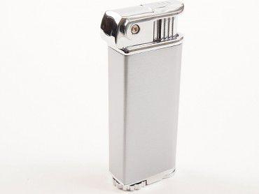 Cool Pfeifenfeuerzeug Eric's Pipe chrom satin
