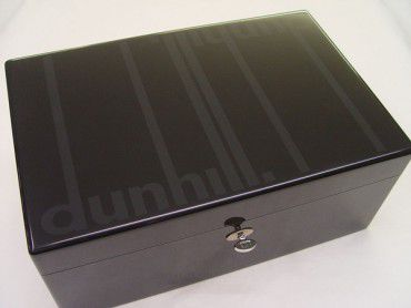 Dunhill Humidor Lack schwarz HS 7820