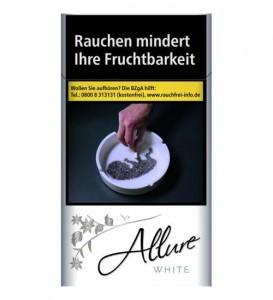 Allure White Super Slims 100 Zigaretten