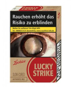 Lucky Strike Authentic Red Giga Zigaretten