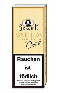 Braniff No.5 Panetela / 10er Packung
