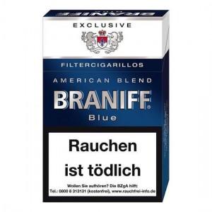 Braniff Blue Filtercigarillos