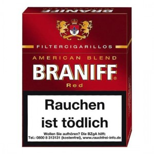 Braniff Red Filtercigarillos