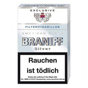 Braniff Silver Filtercigarillos