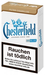 Chesterfield Blue King Size Filtercigarillos
