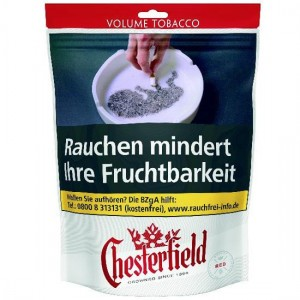 Chesterfield Red Volume Tobacco Giga / 150g Beutel
