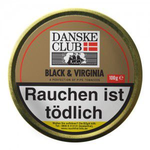 Danske Club Black & Virginia  / 100g Dose