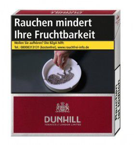 Dunhill International Red Zigaretten