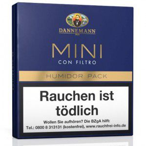 Dannemann Mini Con Filtro / 20er Packung