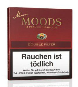 Dannemann Mini Moods Double Filter / 10er Packung