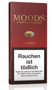 Dannemann Moods Filter / 5er Packung