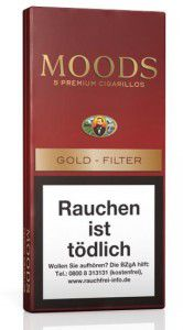 Dannemann Moods Gold Filter / 5er Packung