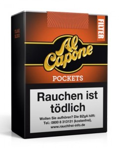 Al Capone Pockets Filter Flame / 18er Packung