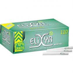 Elixyr Menthol Zigarettenhülsen