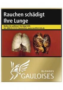 Gauloises Blondes Gold 10 Zigaretten