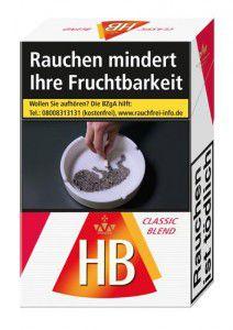HB Classic Blend Zigaretten