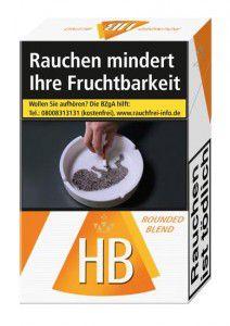 HB Rounded Blend Zigaretten