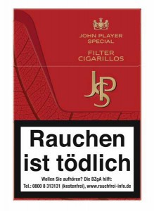 JPS Filtercigarillo Red Sticks
