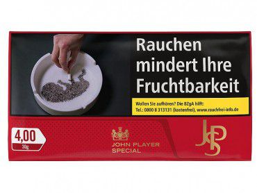 JPS Red Tobacco / 30g Pouch