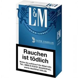 L&M Blue Filtercigarillos
