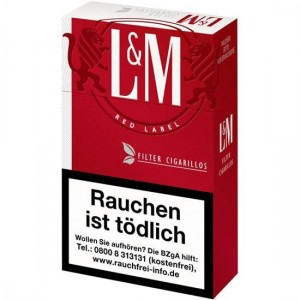 L&M Red Filtercigarillos