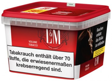 L&M Red Label Volume Tobacco Mega Box / 185g Dose