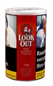 Look Out Red Volumen Tabak / 100g Dose