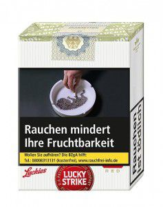 Lucky Strike ohne Filter  Zigaretten