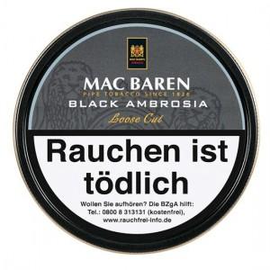 Mac Baren Black Ambrosia / 100g Dose