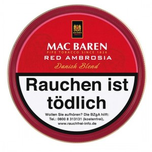 Mac Baren Red Ambrosia / 100g Dose