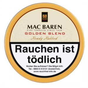 Mac Baren Golden Blend / 100g Dose