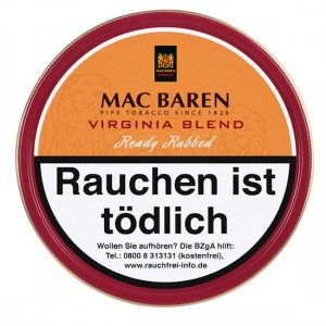 Mac Baren Virginia Blend / 100g Dose